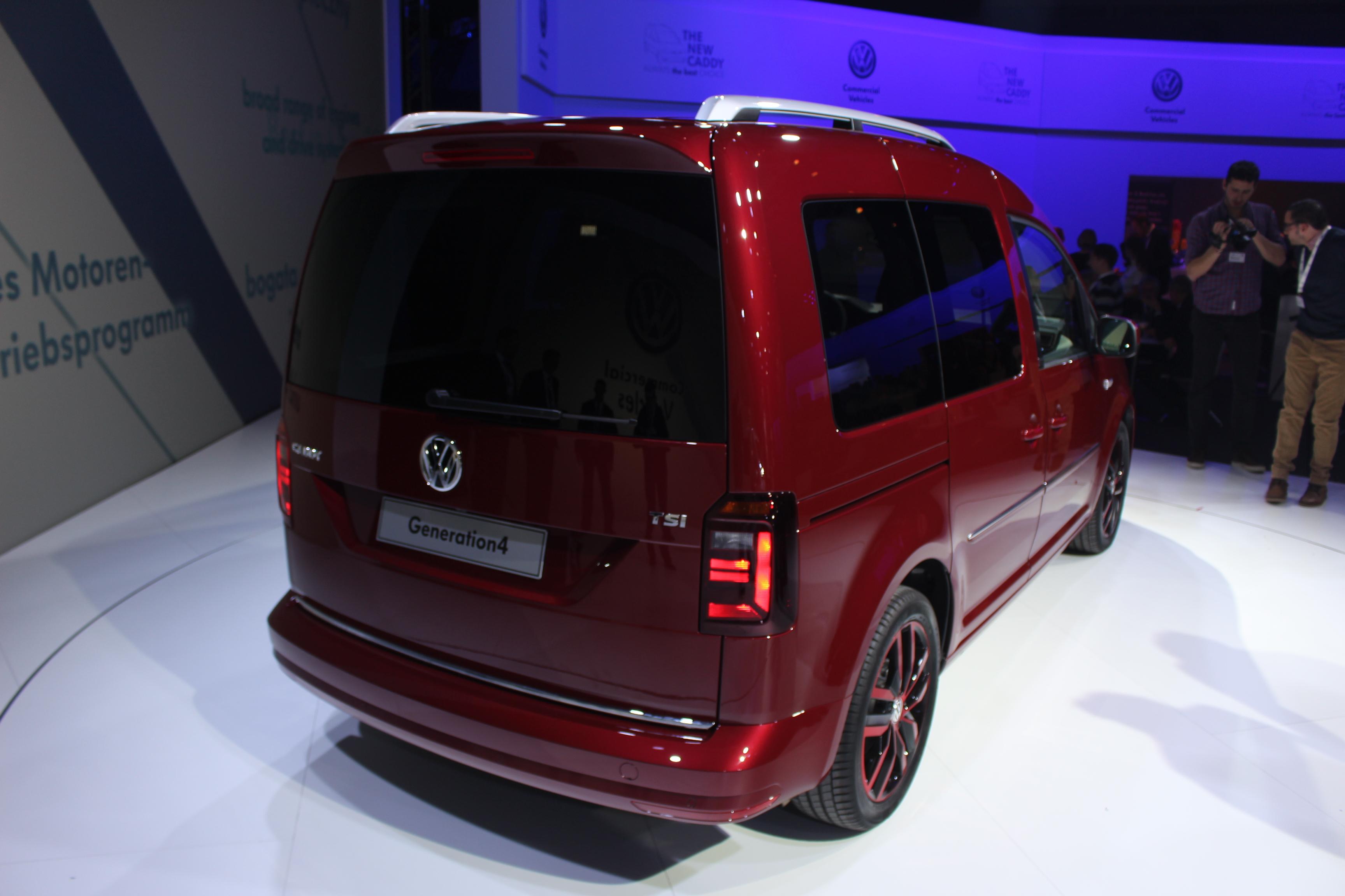 Pr 233 Sentation Vid 233 O Volkswagen Caddy 4 Caradisiac 233 Tait
