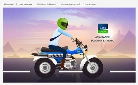 Assurance: vente-privée a proposé des contrats deux-roues