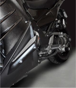 Top Block protège la Kawasaki GTR 1400.