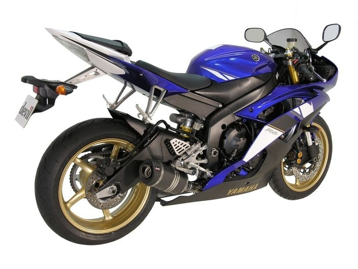 Devil équipe la Yamaha R6 2008