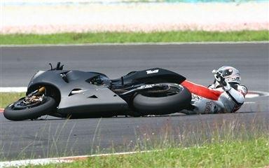 Moto GP - Test Sepang D.1: Randy devant