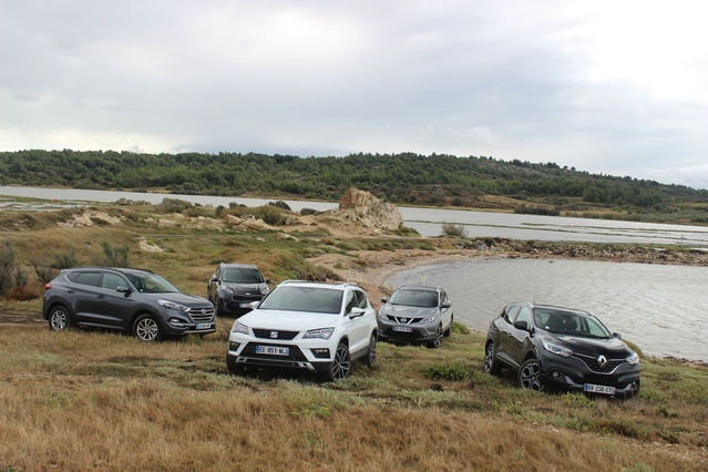 Comparatif vidéo – SUV compacts : le Seat Ateca face à la concurrence