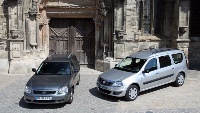 Dacia Logan MCV vs Lada Priora break : classe éco