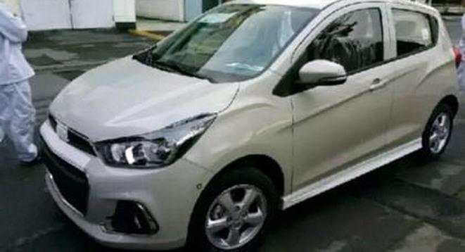 La future Chevrolet Spark (Opel Karl) surprise sur la route