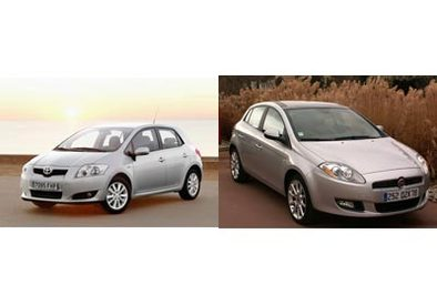 Toyota Auris/ Fiat Bravo : challengers en quête de reconnaissance