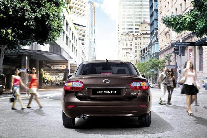 Voici la Renault-Samsung SM3 restylée