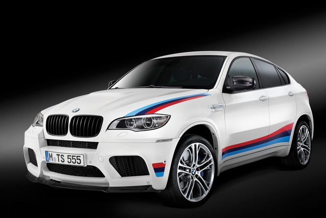 Nouveau BMW X6M Design Edition, une série limitée de fin de carrière