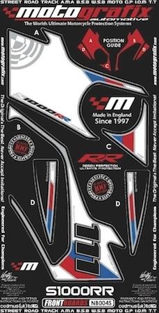 Motografix: kit déco Replica SBK pour la BMW S1000 RR