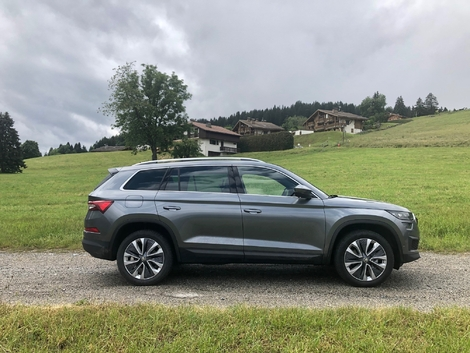Restyled Skoda Kodiaq (2021): the first live images of the test + driving impressions