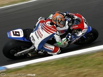 Superbike - Honda: Kiyonari fait son mea-culpa