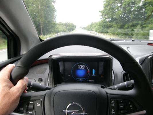 Prise en mains - Opel Ampera