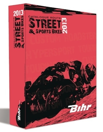 Bihr: le catalogue route 2013 est disponible