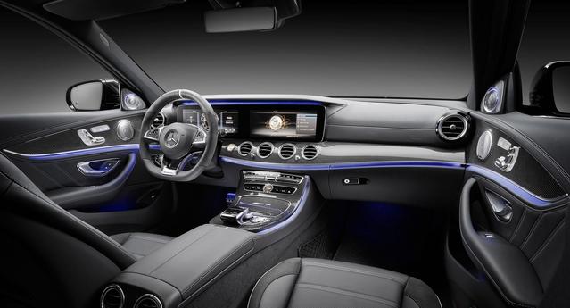 Surpuissante, la Classe E 63 AMG n'oublie pas pour autant le raffinement et les équipements de confort.