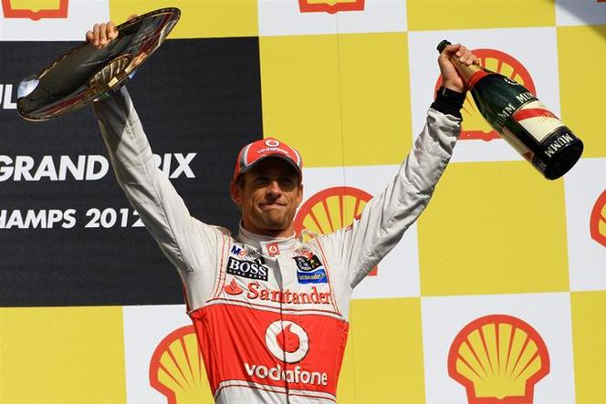 F1 GP de Belgique : Button confirme, Grosjean exclu de la prochaine course