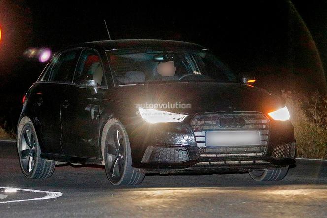 Surprise : l'Audi S1 arrive déjà restylée