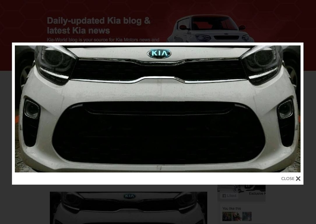 Scoop : voici le nez de la future Kia Picanto