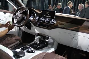 L'habitacle est conforme au standing de Mercedes.