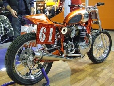 Photo du jour : Triumph Bonnie tracker