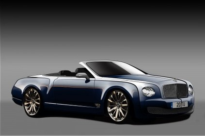 Future Bentley Mulsanne cabriolet: V12 au programme