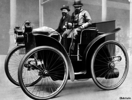 Michelin expose ses 120 ans d'existence
