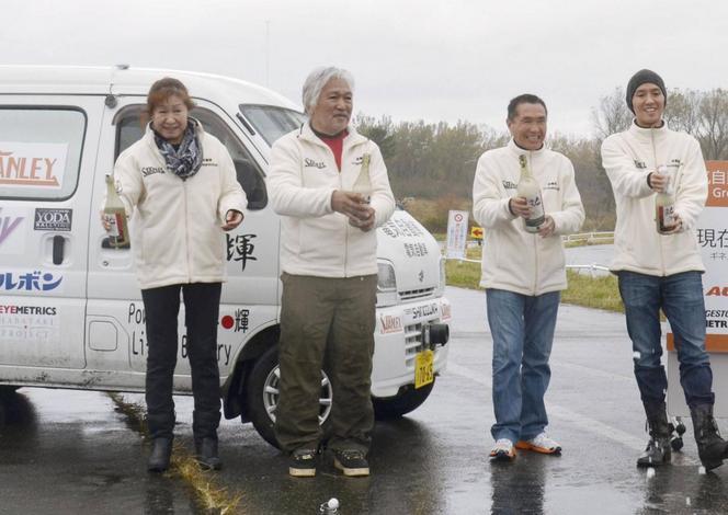 1300 km en Suzuki Every électrique : nouveau record d'autonomie