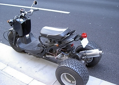 Photo du jour : Honda Zoomer Trike
