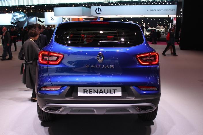 Renault Kadjar restylé : service minimum (mise à jour prix) - Vidéo en direct du Mondial de Paris 2018