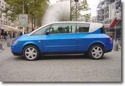 Essai - Renault Avantime : a base d'Espace et de lumière