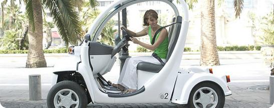 GEM aime les véhicules 100% électriques. Une gamme complète : e2, e4, eS, eL