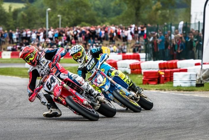 Championnat de France de Supermotard 2017, round 3: Bidart se rebiffe