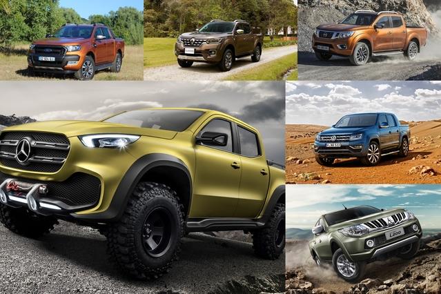 Le marché du pick-up stimule les appétits: Mercedes, Volkswagen, Fiat ou Renault s'attaquent maintenant aux acteurs historiques du secteur tels que Toyota, Nissan, Ford, Mitsubishi ou Isuzu.