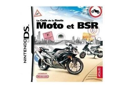 Le code de la route moto et BSR sur Nintendo DS