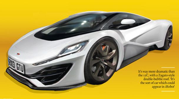 Mondial 2012 - Des précisions sur la supercar McLaren P12