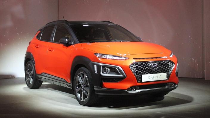 Salon de Francfort 2017 - Hyundai Kona : osé
