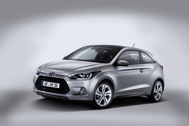 Salon de Genève 2015 - Hyundai i20 Coupé : inédit