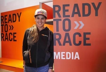 Laia Sanz roule désormais KTM
