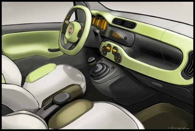 Surprise : la future Fiat Panda 3 montre son habitacle