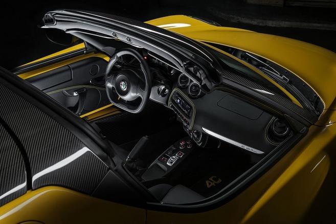 Salon de Genève 2015 - Alfa Romeo 4C Spider : topless