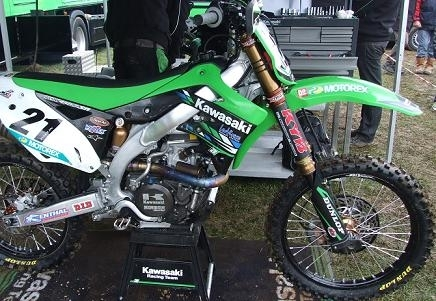 Des 450 made in Kawasaki