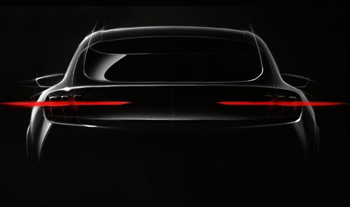 Ford : première image du SUV électrique inspiré de la Mustang