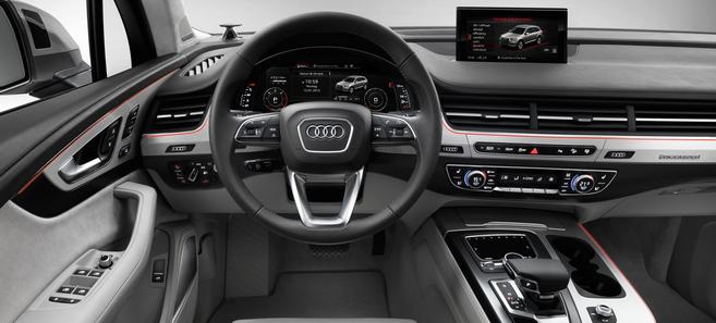 Salon de Genève 2015 - Audi Q7 : allégé