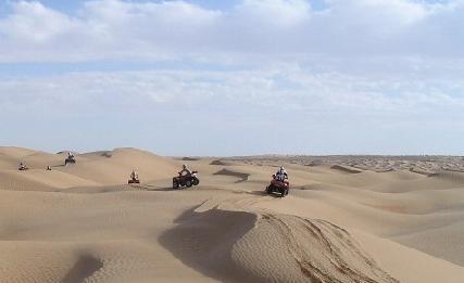 10ème Transfennec, le désert en quad