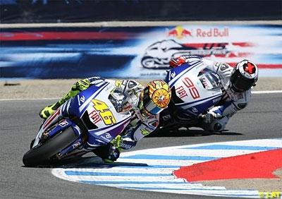 Moto GP - Allemagne: Rossi y cherchera une place de mieux qu'en 2008