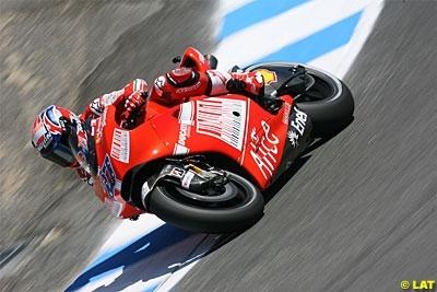Moto GP - Allemagne: Stoner encore contraint de limiter la casse