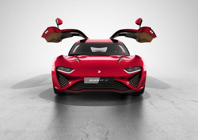 Genève 2015 : Quant F Concept, presque prête