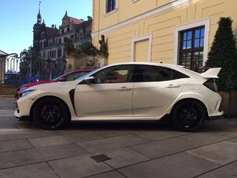 Honda Civic Type R 2017 - Les premières images de l'essai en live