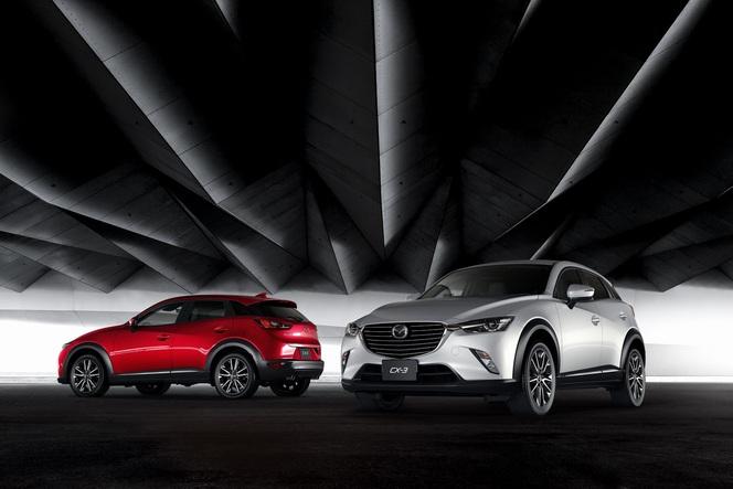 Salon de Genève 2015 - Mazda CX-3, gros potentiel