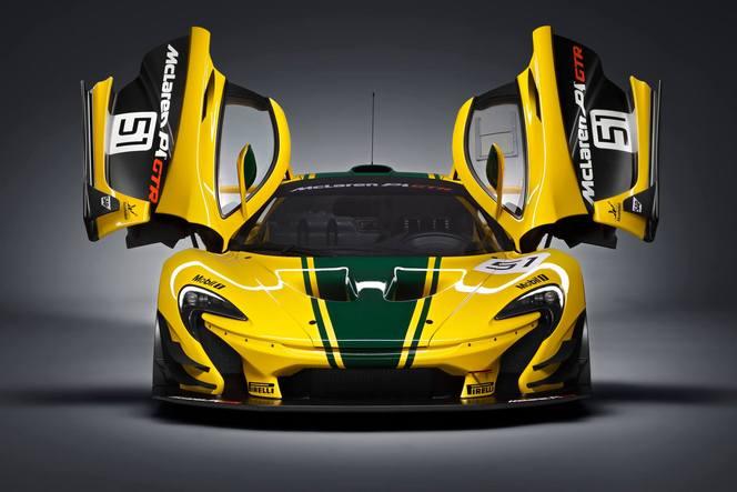 Salon de Genève 2015 - McLaren P1 GTR, la XX de Woking