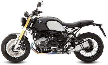 Mivv: différentes possibilités pour la BMW R Nine-T