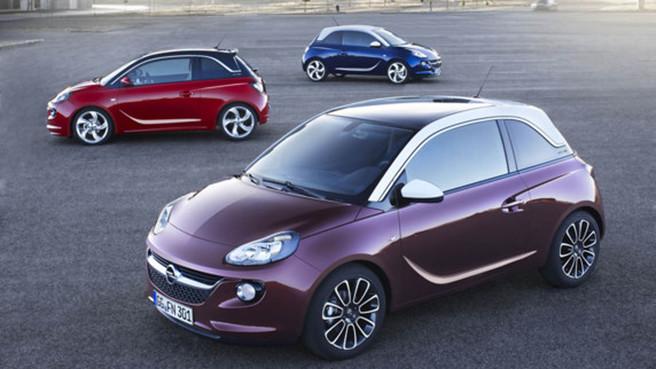 Guide des stands Mondial 2012 : Opel lance l'Adam
